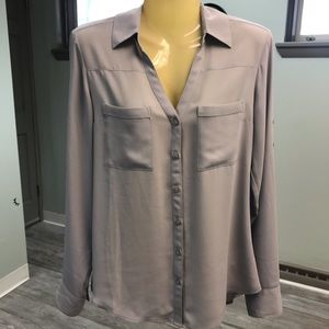 Express Slim-fit Portofino blouse